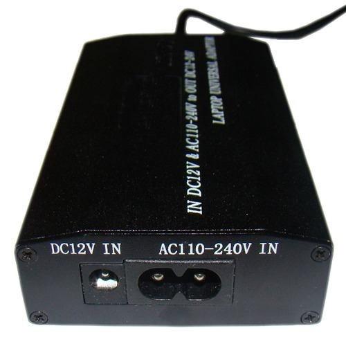 fonte universal notebook laptop + carregador veicular - 120w