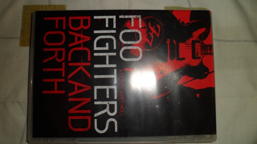 foo fighters backand forth dvd