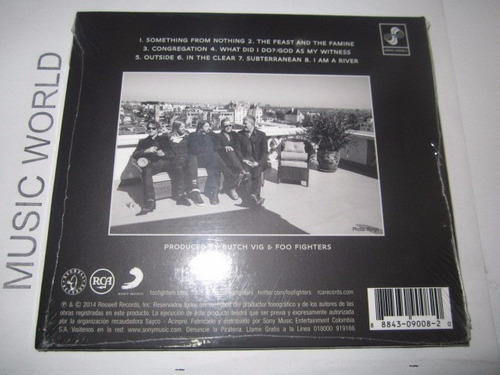 foo fighters cd disponible!