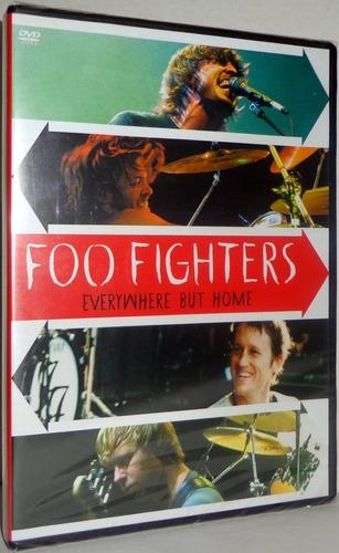foo fighters everywhere but home dvd original raro ótimo pre