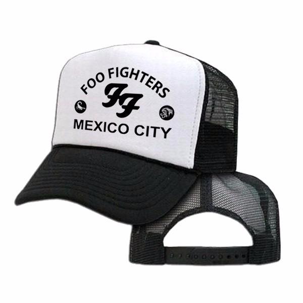 20eadbf97221d Foo Fighters - Gorra Trucker Unisex - Curvas - Rock - Grunge -   299 ...