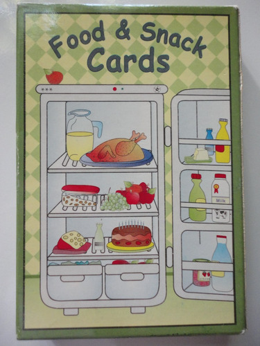 food and snack cards