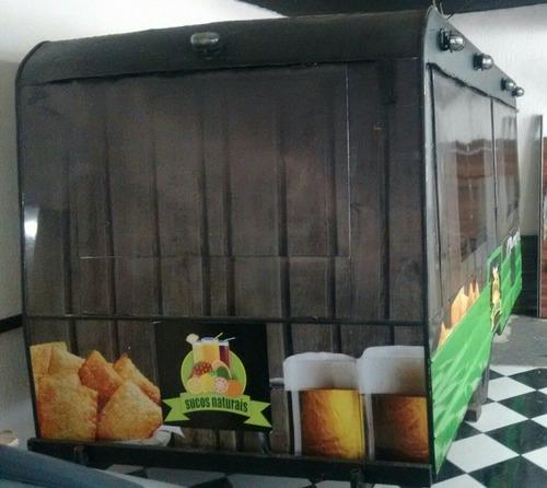 food trailer / food truck p/ pastéis ,lanches , espetos etc.