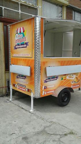 food trailer, food truck, trailer remolque para comida