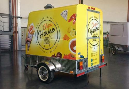 food trailer mactrail modelo monterrey 100 full