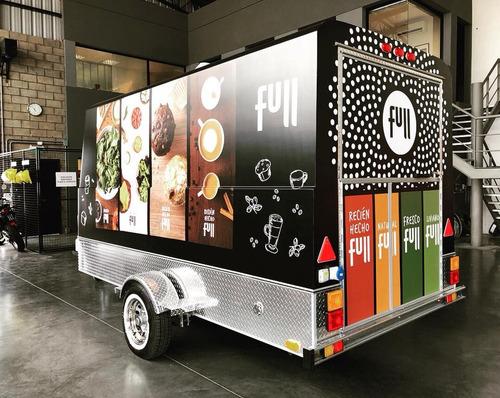 food trailer mactrail monterrey 100l full