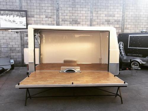 food trailer monterrey 100 xl full homologado con lcm