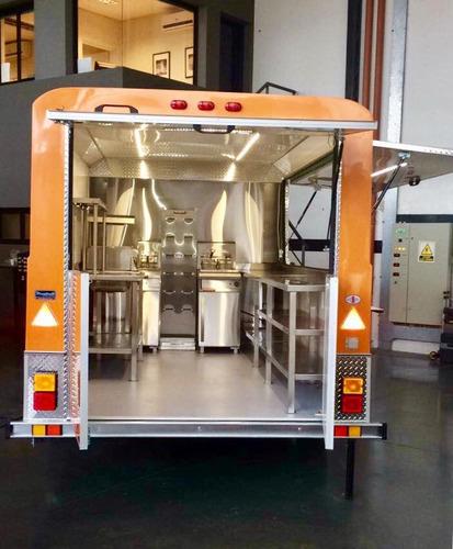 food trailer monterrey 100 xl std homologado