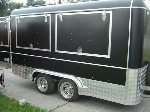 food trailer, trailer gastronomico tipo americano