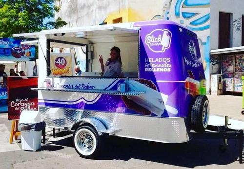 food trailer truck gastronomico homologado con lcm y n° vin