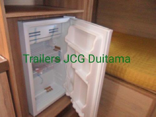 food trailer y casas rodantes