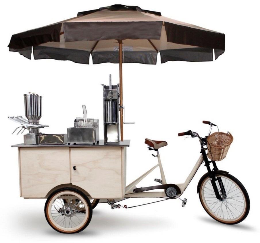 Food Trike Triciclo Truck Bike Para Churros R 9 300 00