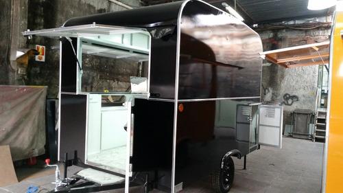 food truck 2017 - vettor trailer - novo