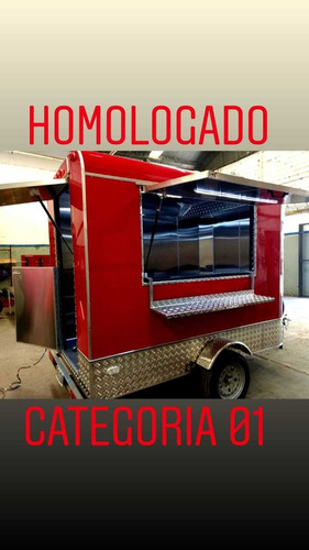 food truck 2.5 .mtrs  homologado patentable  con lcm .