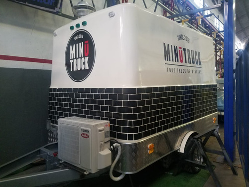 food truck 3 mtrs (habilitable) homologado con lcm .