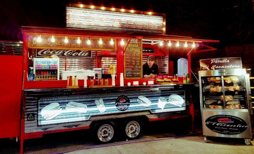food truck 4mts full