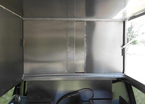 food truck astro van 96 6 cil aut. interior con acero inox.