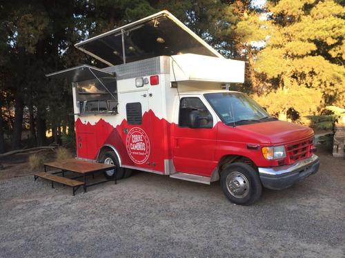 food truck camion comida equipado - arriendo o compra