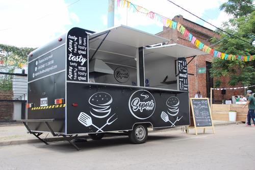 food truck - catering hamburguesa, superpancho y fritas