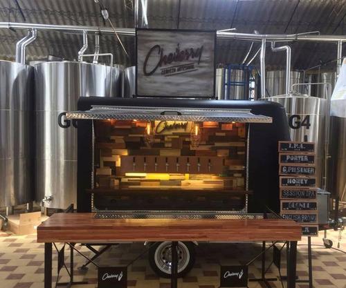 food truck cervecero beer truck patentable