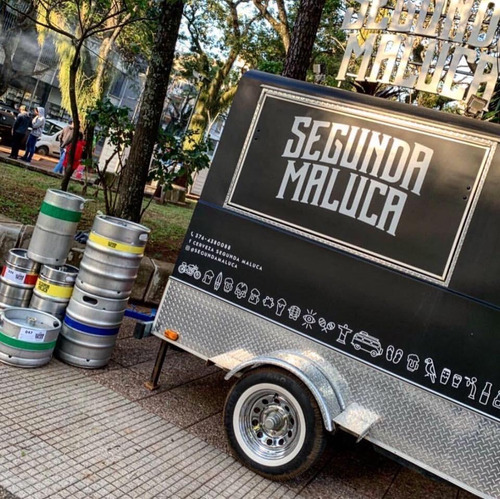 food truck cervecero patentable