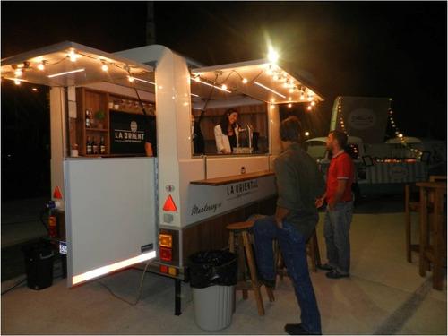 food truck cervecero trailer patentable con lcm