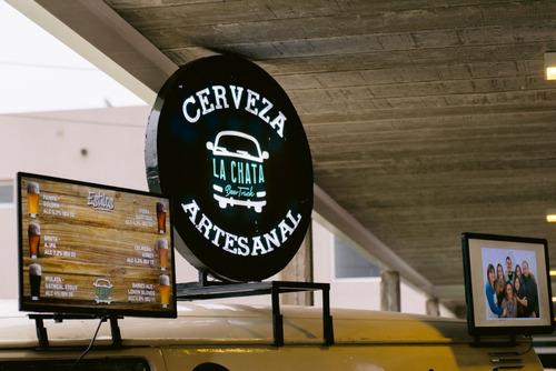 food truck cerveza artesanal-casamientos / eventos / chopera