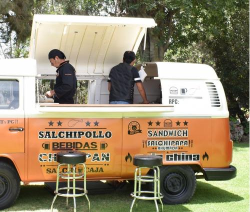 food truck - combi volskwagen panel