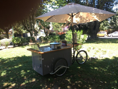 food truck creperia triciclo, triciclo para hacer panqueques