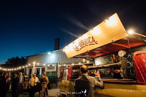 food truck de cerveza artesanal - alquiler para eventos