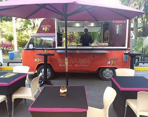 food truck de comida rápida
