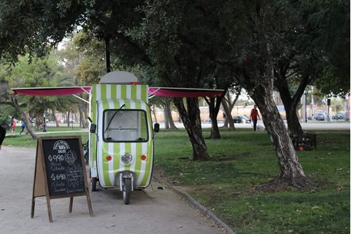 food truck de helados soft