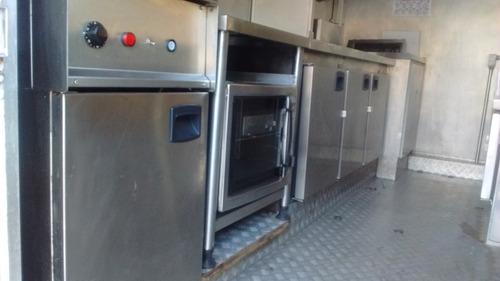food truck - design único / cozinha para qualquer operação.