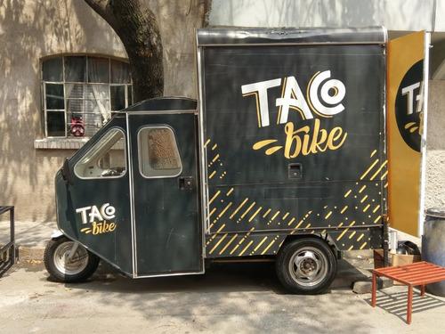 food truck en moto-carro 2015 -100km recorridos