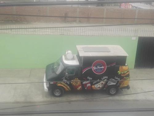food truck equipado