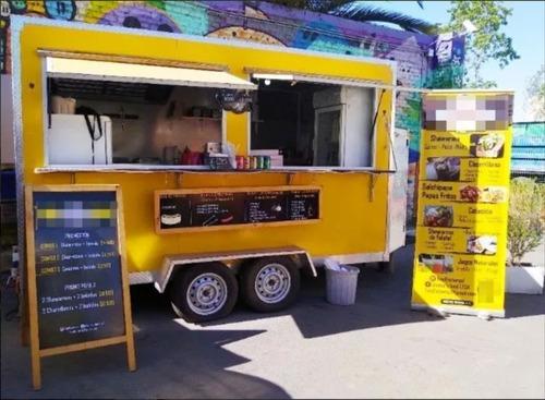 food truck equipado y operativo