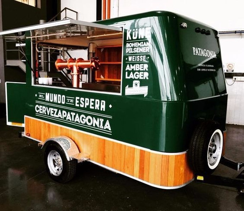 food truck, food trailer c/ freno entrega inmediata