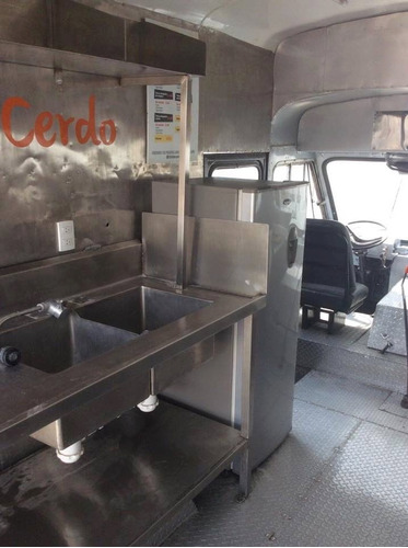 food truck ford vanette 1973