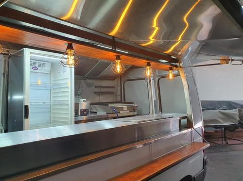 food truck gastronomico , realizado - citroen jumper full