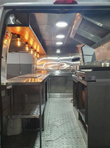 food truck gastronomico , realizado sobre  citroen jumper