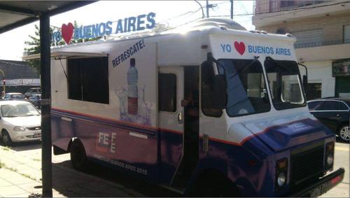 food truck grumman olson bimbo