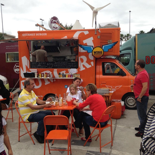 food truck hamburger ou outras operações