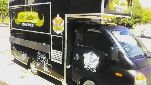 food truck hr e kia bongo top de linha montagem