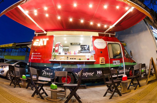 food truck  iveco mod. 97 - completamente equipado