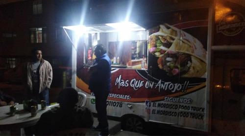food truck lista para trabajar con buenos ingresos