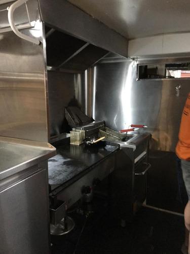 food truck listo para trabajar. incluye flete todo arg.