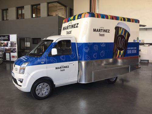 food truck mactrail módulo trasero