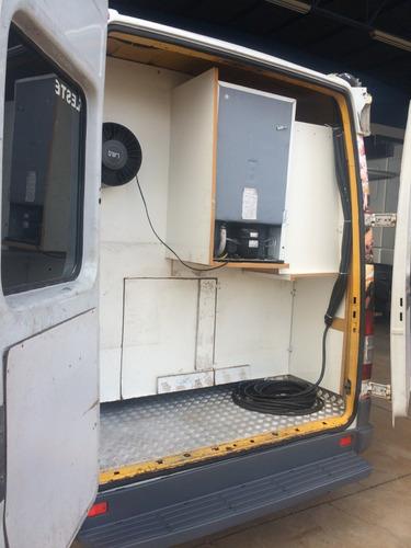 food truck mb 312 sprinter - cozinha completa