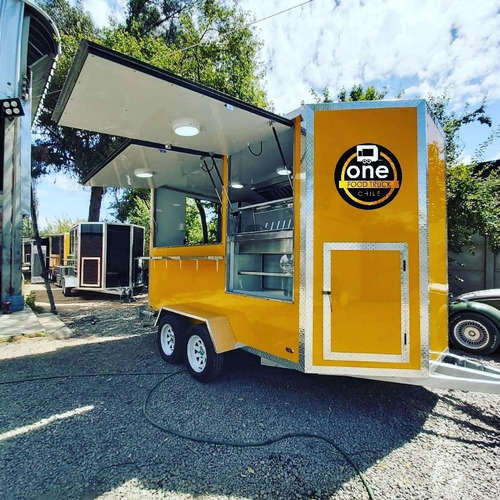 food truck modelo hexagonal