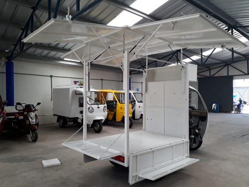 food truck  motocarro 2018 kingway con elevacion de techo